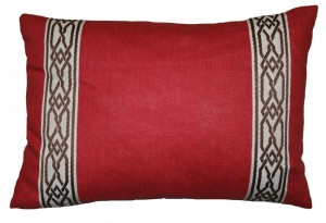 Red Green Key Pillow