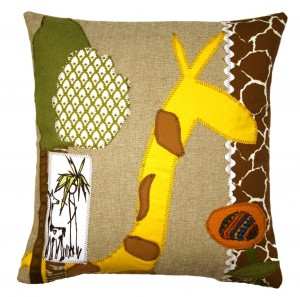 Modern Giraffe Pillow