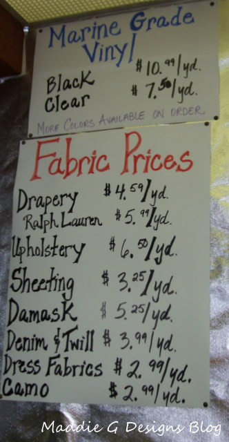 Designer Fabric at incredible prices