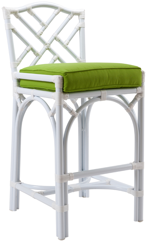 Outdoor Chippendale Bar Stool