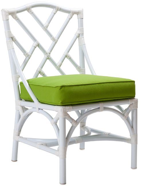 Outdoor Chippendale Side Chair