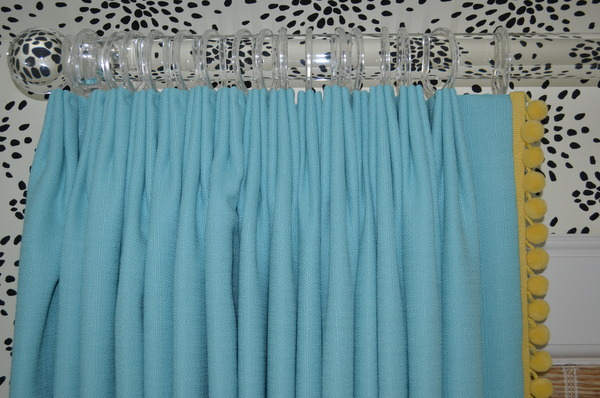 Maddie 39 s bedroom before and after maddie g designs - Turquoise and yellow curtains ...