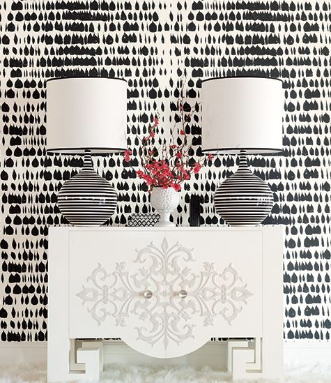 Schumacher Queen of Spain Wallpaper available at Shop Maddie G