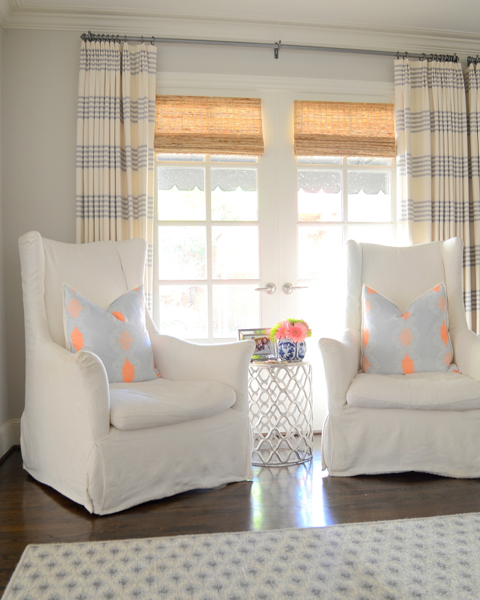 Contact Maddie G Designs for Source Info on our One Room Challenge Makeover