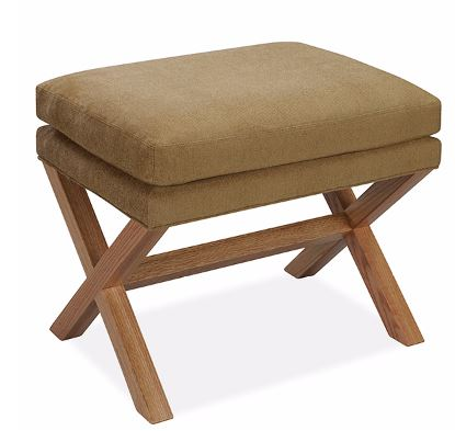 Lee Industries Wood Frame X Bench